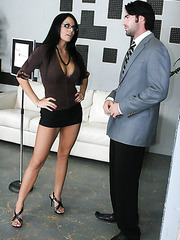 Unforgettable visiting of the office with gorgeous milf Mikayla with big tits