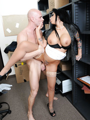 Unforgettable tittyfuck, dick riding and facial with mesmerizing brunette milf Mason Moore