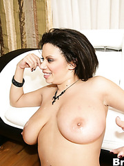 Alexis Silver seduces her husbands young friend and fucks him great