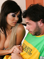 Sienna West lets him to lick the most sensitive parts of her body before hot pounding