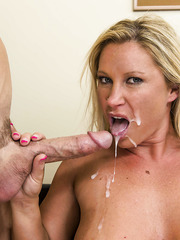 Mature secretary Devon Lee was dreaming about her boss' big cock for a long time
