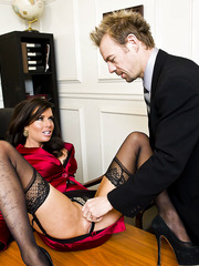 Veronica Avluv corrupts a lawyer with her amazing big tits and great fucking skills