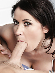 Horny milf Eva Karera was dreaming about something big and pleasant and she got it