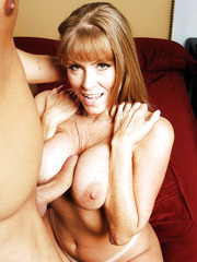 Awesome anal fuck with a dangerous mature whose name is Darla Krane