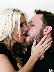 Hardcore threesome with naughty sisters named Rhylee Richards and Rhyse Richards