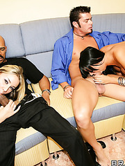 Awesome foursome with gentle babies named Delilah Strong and Hailey Star