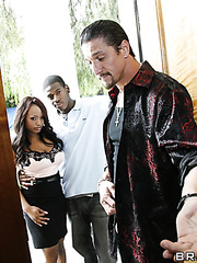 Hardcore interracial foursome with Jada Fire and Ricki White