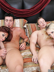 Amazing threesome outdoor fuck with Lucky Benton and Shawna Lenee