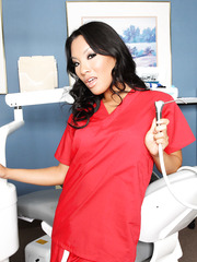 Astounding Asian brunette babe - Asa Akira knows the secrets of the tibet medicine