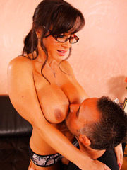 Hardcore therapy for a big cock by amazing mature with big tits Lisa Ann