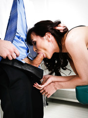 Slutty milf Cytherea came at doctor's examination in the search of hardcore fuck