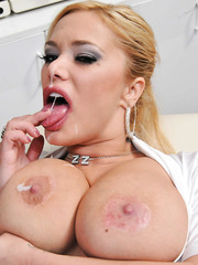 Nurse with attractive forms and melons Shyla Stylez makes her colleague wild