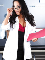 Fabulous and horny Asian doctor Asa Akira always wear provocative lingerie
