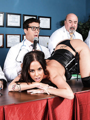 Brandy Aniston gets her asshole pounded hard by experienced doctor
