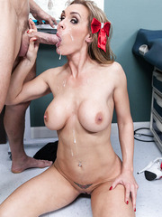 Awesome and hardcore fuck with a horny mommy named Tanya Tate