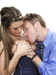 Hardcore fuck with a naughty chick Carmen McCarthy in the office