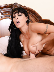 Fancy lover Holly Halston fucking in hardcore style and making a  deepthroat