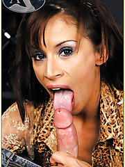 Awesome action with a passionate and tanned whore named Devon Michaels