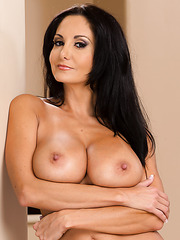 Ardent hooker  Ava Addams playing with big tits and getting satisfied