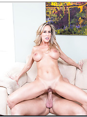 Winsome girl Brandi Love can't live without big delicious peckers