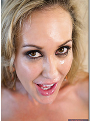 Spicy mature Brandi Love prefers banging with strangers and swallowing cum