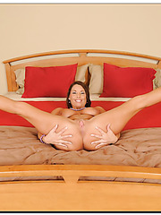 Spoiled bitch Stacie Starr demonstrating sexy panties and getting satisfied