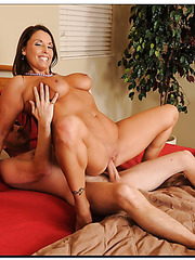 Skillful mature Stacie Starr knows how to please her nasty neighbor