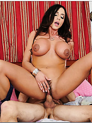 Superb babe Ariella Ferrera fucking with a youngster and reaching orgasm