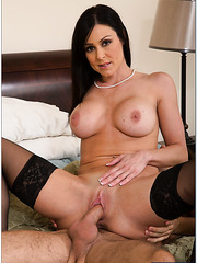 Perfect lady Kendra Lust prefers to be pounded hard in various positions