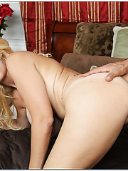 Topnotch mature Charlee Chase loves to be drilled by a young sexy boy