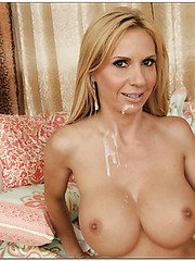 Passionate slut Brooke Tyler loves swallowing cocks and gets nailed