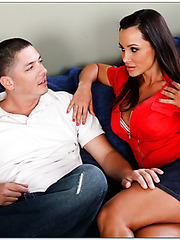 Delicate whore Lisa Ann accepts only big yummy rods and shaved balls