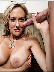 High-class hooker Brandi Love enjoys a young wiener and gets drilled