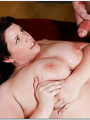 Topnotch chick Lisa Sparxxx getting a cumshot after fucking with her friend