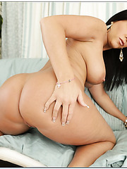 Swanky wife Kendra Secrets loves to undress and masturbates hard