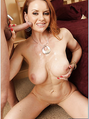 Curious mature Janet Mason needs to be constantly satisfied and wet