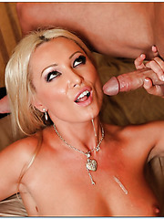 Attractive whore Diana Doll adores fucking with youngsters and eating cum