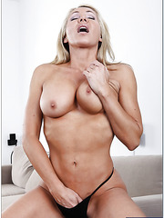 Spicy milf Lisa Demarco showing dreamy ass and posing in sexy lingerie