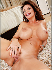 Jolly coquette Deauxma demonstrating her melons and jilling all the time