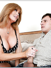 Chubby mature Darla Crane loves making deepthroats and getting fucked