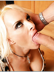 Pretty cool curve Holly Halston loves banging with her friend in the kitchen