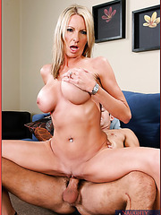 Hardcore fuck scene, in which nasty blonde Emma Starr gives a hot blowjob
