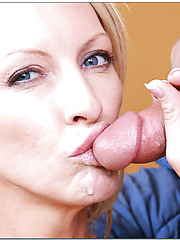 Mrs. Starr knows that she will get a sweet sperm after a crazy fuck