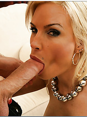 Mrs. Foxxx and her student James demonstrate a hardcore fuck