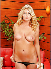 Blonde milf with natural breast Christina Skye enjoys passionate fucking
