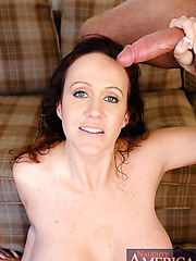 Mrs. O'Dare takes her son's friend's cock in the sweet mouth