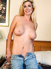 Naughty blonde mature Sugar Kane shows her great pussy in sexy poses