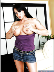 Exciting anal fuck for a hardcore brunette milf with hot big boobs Moxxie Maddron