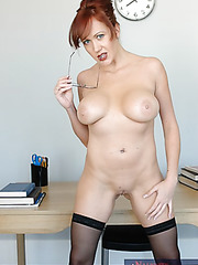 Mature teacher Bailey O'dare has great fucking experience and loves to share it