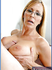 All natural and busty teacher Nicole Moore fucked by her student